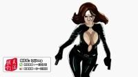[一囧漫画]2 黑寡妇