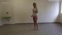 Darya high heels and barefoot kicking preview