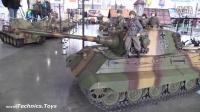「RCNOW」1/6 RC遥控坦克 运兵车运行场景