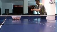 逆旋转钩子发球 张继科式发球 乒乓球教学