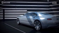 全新观致9概念车 设计简洁充满未来感