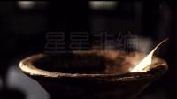 W495 中国古代书简竹简古文字文化高清实拍视频素材