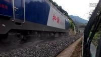 达万铁路 成局重段HXD3C 0263牵引K697 汉口至成都