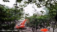 【彝寨汉子】四川泸州惊现逆天拆楼现场 工人瞬间被吞没 挖掘机惊险拆楼视频 哎呀……终于见到这一刻 不得了……