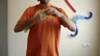 国外魔术气球教学分享-忍者龟-第二部份