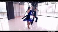 #单色舞蹈#双人拉丁舞 伦巴舞教学《需要人陪》 导师:陈思彤