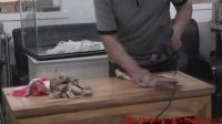传统木工辛全生鱼缸架子制作全过程(第一集)
