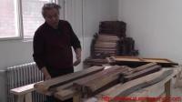 传统木工辛全生鱼缸架子制作全过程(第二集)
