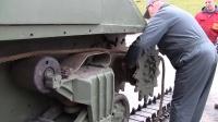 「RCNOW」实车谢尔曼M4坦克更换履带作业视频