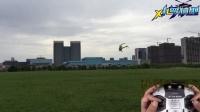 小罗模型 直升机3D 练习教程1 对尾悬停