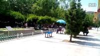 浏览城南广场美景,倾听两首好歌