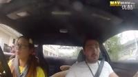 女赛车手扮菜鸟学车 表演超强漂移吓坏教练