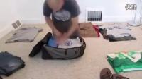 老外背包打包技巧方法