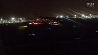 东航云南A330-200,B-5921 迪拜直飞昆明夜晚迪拜起飞