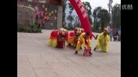 云南绥江县中村传统舞狮