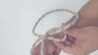 CAER动手学安全--称人结(可将绳子固定为一个绳圈,容易拆解,是一种稳固的结,是一种古老且结构简单的结)北京民众安全应急救援研究院
