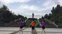 紫月蔷薇广场舞 藏家吉祥三人演示