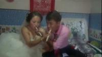 陕西农村结婚风俗-闹洞房新娘亮点很多,各种搞笑你们有过吗?