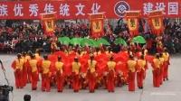 陕北秧歌春节大秧歌 洛川秧歌队(陕北唢呐道情文化欢快)