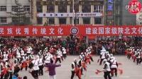陕北秧歌春节大秧歌 安塞秧歌队(陕北唢呐道情文化欢快而温馨)