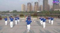 歌在飞-神韵二队广场健身创意鹤舞