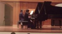 【上半年考试自录】肖邦第二钢琴协奏曲 第一第二乐章 双钢琴