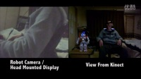Head Mounted Display Controls Humanoid Robot Head and Sees T