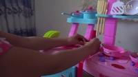 亲子游戏开箱神秘大奖拼装厨房厨具水果切切看过家家玩具5
