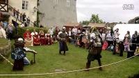 捷克传统节日文艺演出 中世纪 骑士比武 3