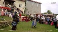 捷克传统节日文艺演出 中世纪 骑士比武  6