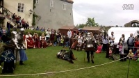 捷克传统节日文艺演出 中世纪 骑士比武 5
