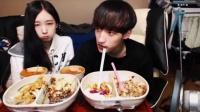加群453074250——吃出个未来·韩国女主播吃货男主播吃饭直播真的是什么都吃,大胃王减肥美食视频美食人生大学生做菜13_标清