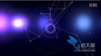 0411圆点直线光斑几何体运动图形科技感循环三维立体视频素材