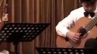 舒伯特《小夜曲》 太原 姜达刘晨璇演奏 小提琴与吉他