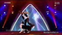 [边牧跳舞视频]边境牧羊犬奥地利才艺秀上边牧Esprit与主人共舞令人惊叹