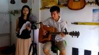 美声吉他弹唱《爱人的身旁》从化吉他(钟惠君,方柏林)