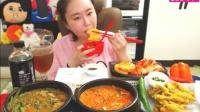 有偿微信:13851276916——19韩国吃播。大胃王吃出个未来·韩国女主播吃货吃饭直播真的是什么都吃,大胃王减肥美食视频美食人生afreeca