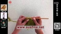钩针-ATTV 澳瑟芬编织视频 袜子钩织之短针袜筒部分