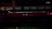 HXD1D 0284 牵引Z86 杭州到西安 南京站发车