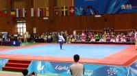 2015韩国世界大学生运动会跆拳道品势韩国个人决赛