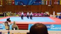 2015韩国世界大学生运动会跆拳道品势伊朗男团决赛