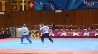 2015韩国世界大学生运动会跆拳道品势土耳其混双决赛