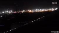 汉莎航空744 夜间落地迪拜 景色不错