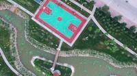 航拍-欣赏盘锦新立公园