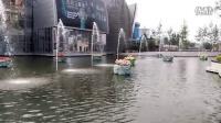 北京欢乐谷大门北侧喷泉