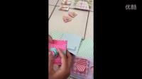 爆炸卡片盒子视频演示,内有教学