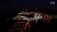 Night aerial with the Yuneec Q500.