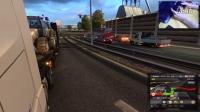 【斑条豌豆】欧洲卡车模拟2 说着说着开错路了