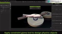 视频速报:iClone 6 Feature Demo - Object-oriented Constraints-www.nbitc.com,慧之家
