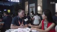 2015广州建博会慧聪家装网专访皮阿诺衣柜市场部经理王华利